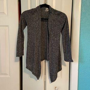 Girls dark grey sweater.
